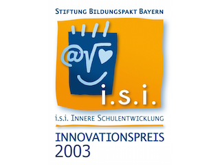 Logo Preisträger Innovationspreis Innere Schulentwicklung 2003